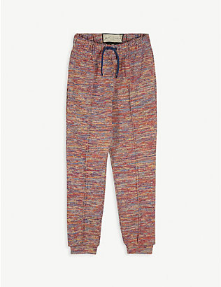 PREVU: Karman knitted cuffed trousers 4-14 years