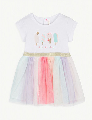 BILLIE BLUSH Ice cream print dress 3-36 months