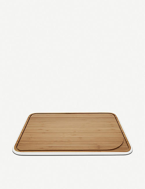 PEBBLY Bamboo cutting board 35cm