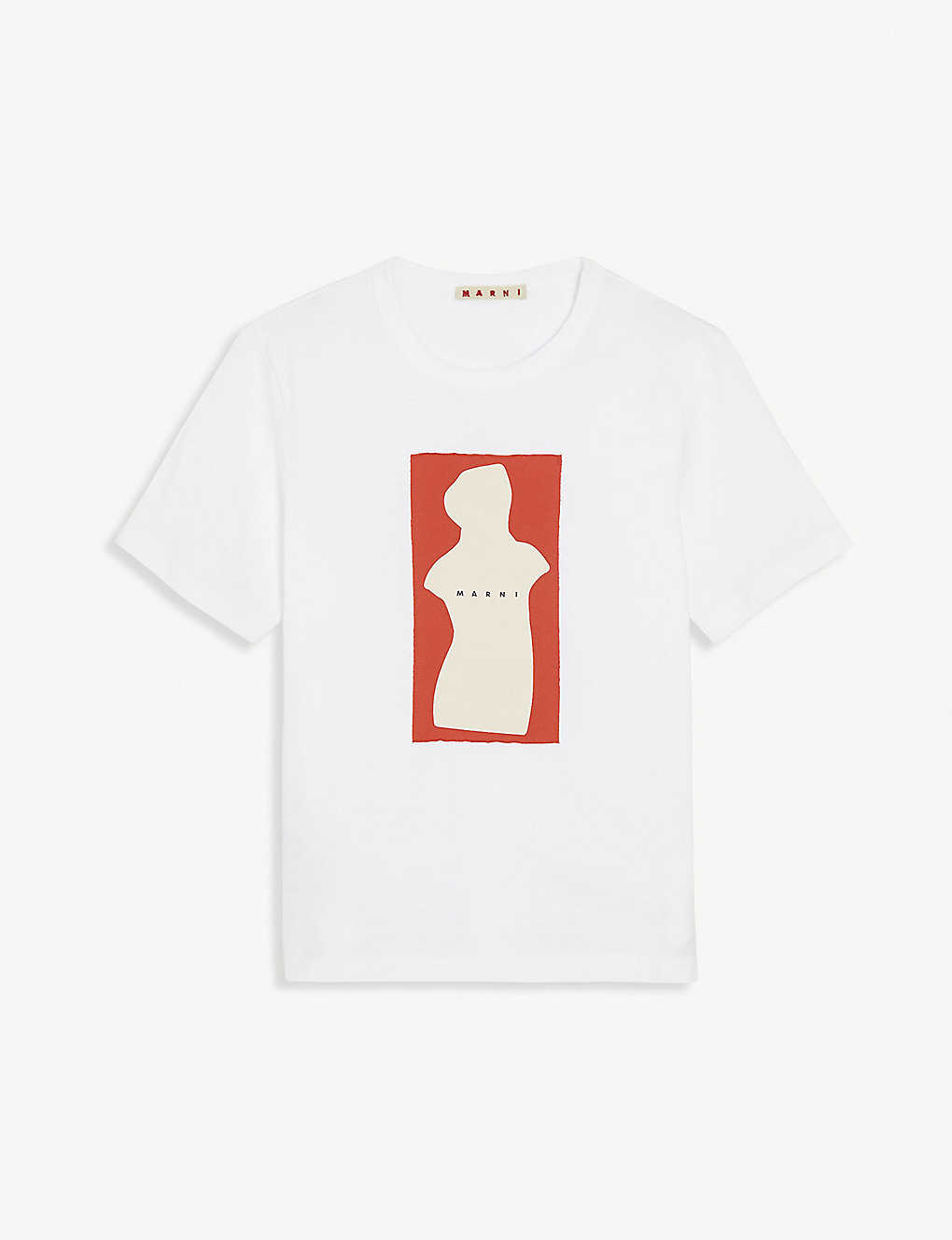 MARNI: Graphic logo print cotton T-shirt 4-14 years