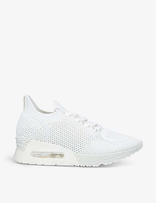 DKNY: Ashly low-top knitted trainers