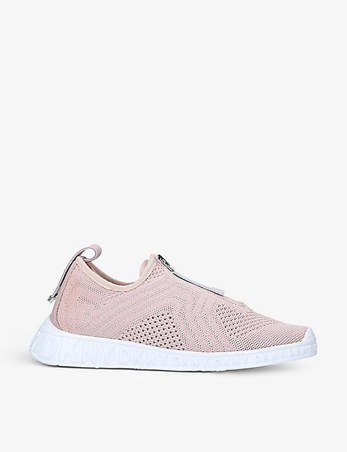 DKNY: Melissa low-top knitted trainers