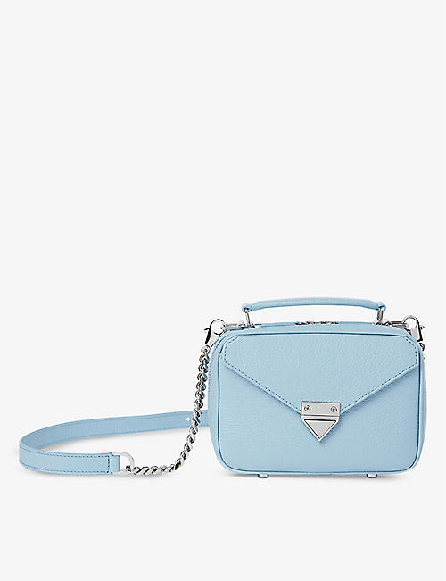 THE KOOPLES: Barbara mini leather cross-body bag