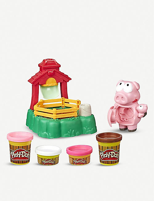 PLAYDOH Animal Crew Pigsley Splashin Pigs set