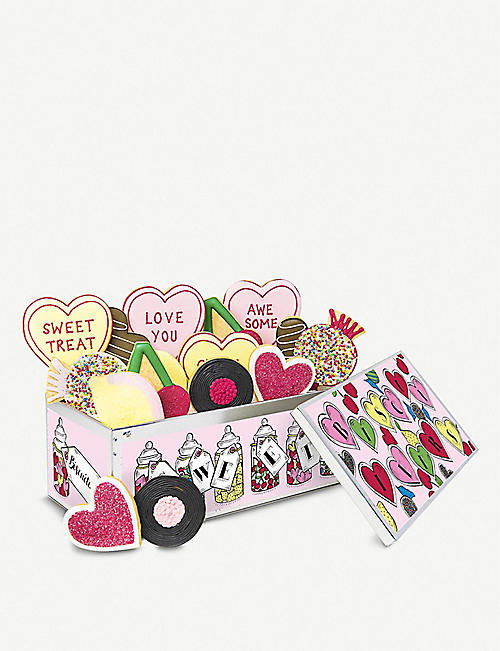 BISCUITEERS Love Is Sweet biscuits box of nine