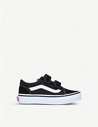 VANS: Old Skool suede and canvas trainers 4-8 years