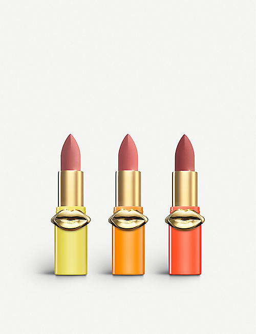PAT MCGRATH LABS Skin Show V2 Mini MatteTrance Lipstick Trio
