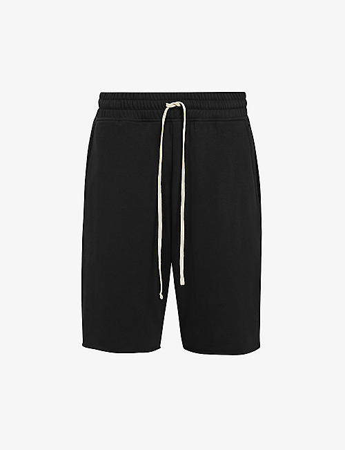 ALLSAINTS: Helix cotton-blend jersey shorts