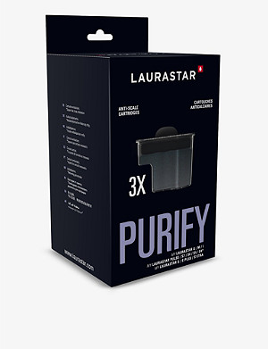 LAURASTAR Smart water-filter cartridges box of three