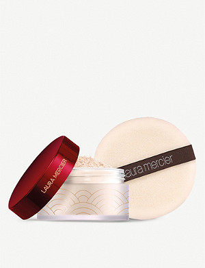 LAURA MERCIER Limited Edition Set For Luck Translucent Setting Powder with Puff 29g