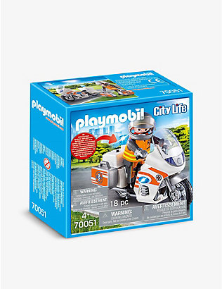 PLAYMOBIL: City Life emergency motorbike