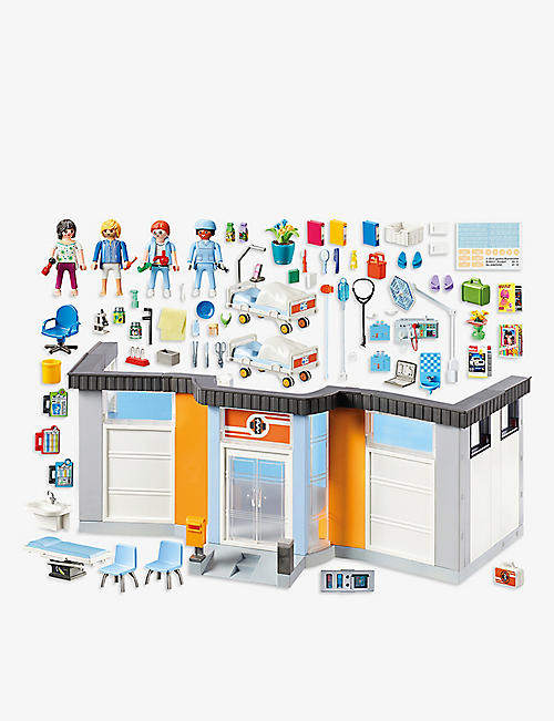 PLAYMOBIL City Life Hospital wing playset