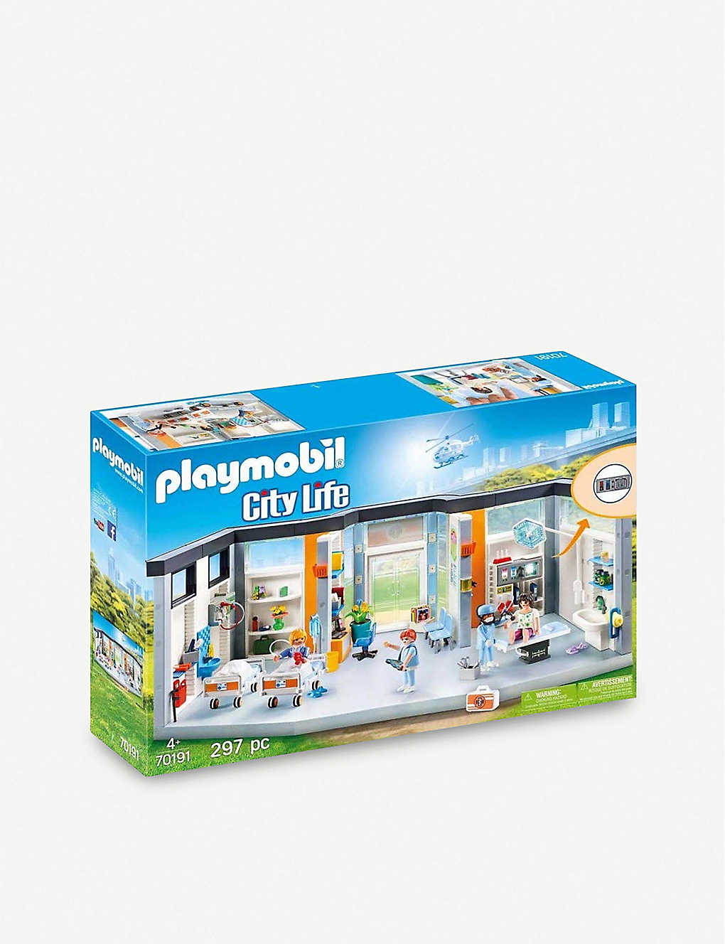 PLAYMOBIL: City Life Hospital wing playset