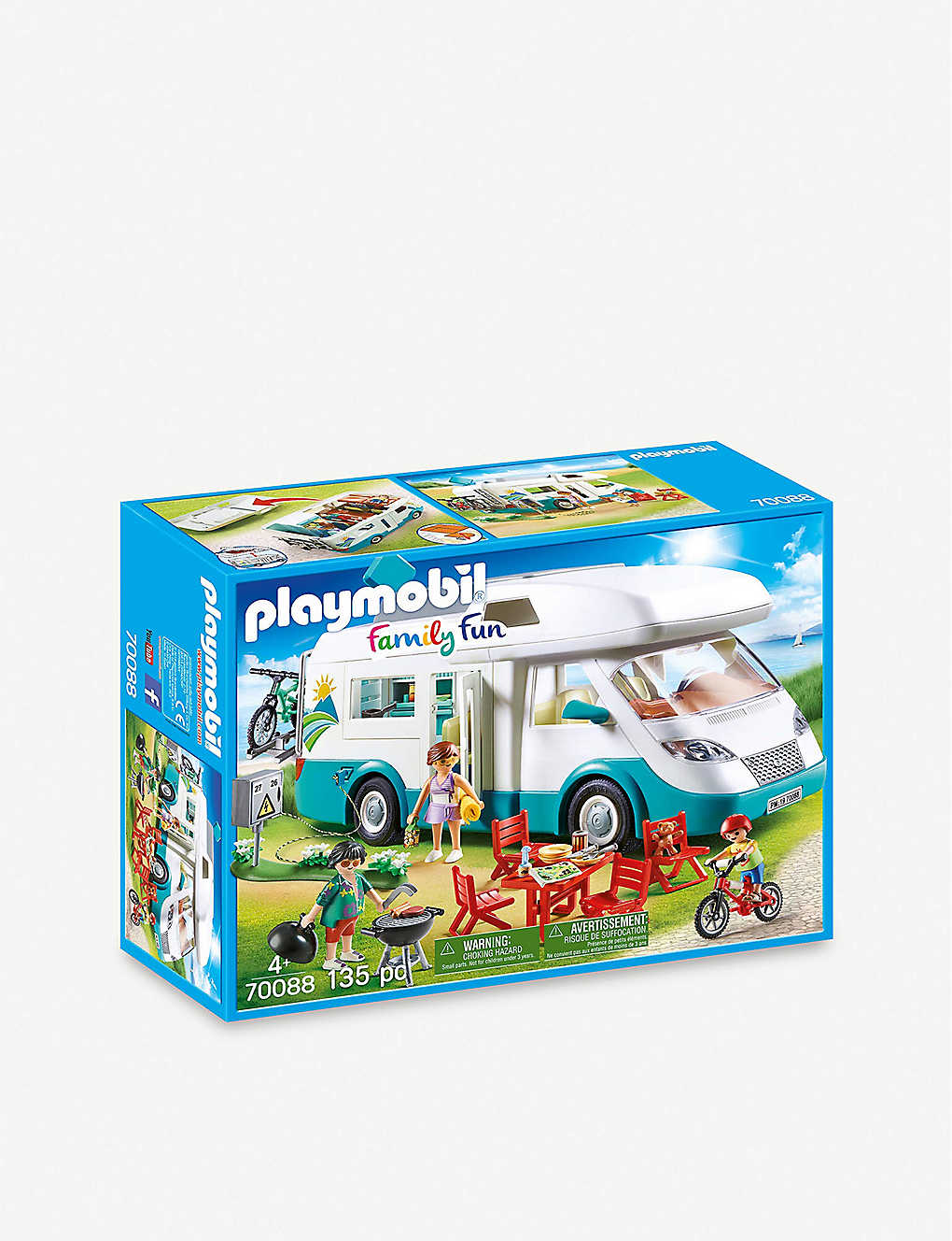 PLAYMOBIL: 70088 Family Fun Family Camper set