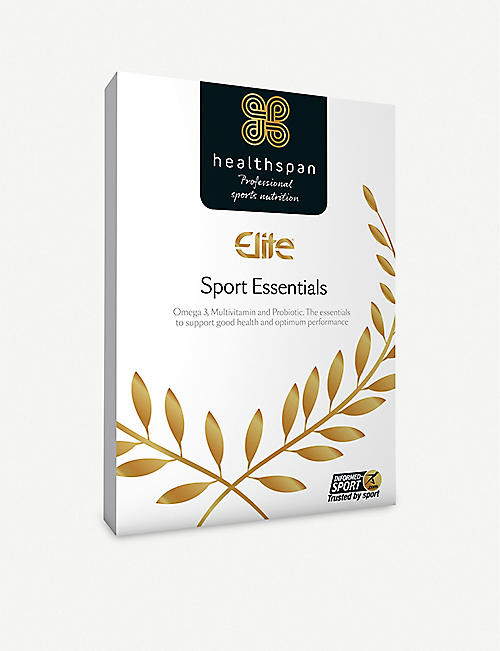 HEALTHSPAN: Elite Sport Essentials multivitamin and probiotics 28 capsules