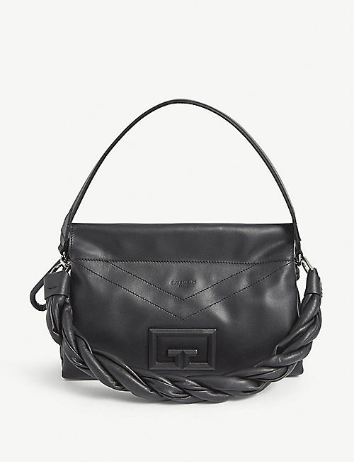 GIVENCHY: ID 93 medium leather shoulder bag