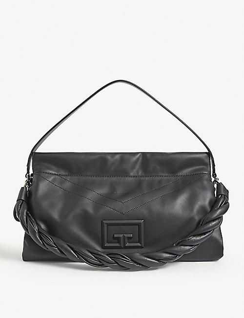 GIVENCHY: ID93 large leather shoulder bag