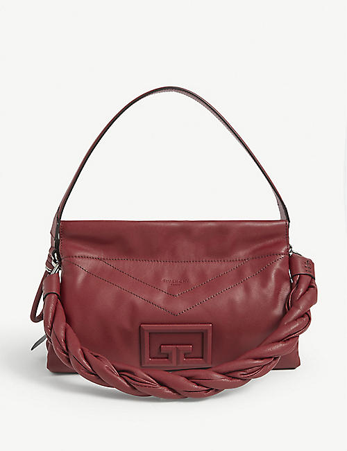 GIVENCHY: ID93 medium leather shoulder bag