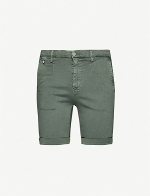 REPLAY Hyperchino stretch-denim shorts
