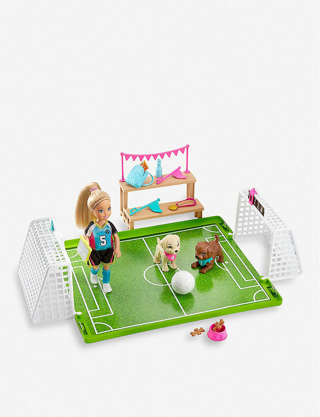 BARBIE: Chelsea Football playset