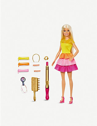 BARBIE: Barbie Ultimate Curls play set