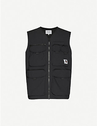 CARHARTT WIP: Hayes woven gilet