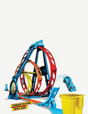 HOTWHEELS Track Builder Triple Loop set