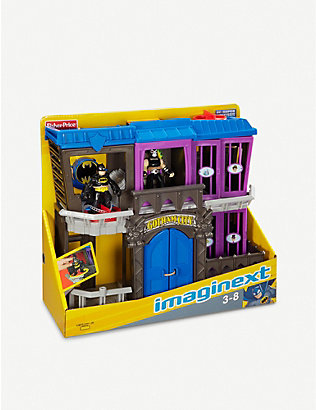 BATMAN: Imaginext DC Super Friends Gotham Jail set