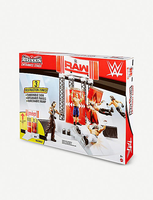 WWE Wrekkin Entrance Stage play set