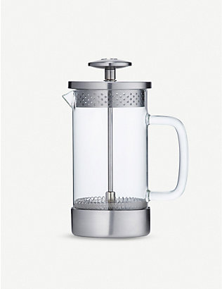 BARISTA & CO: Three cup borosilicate glass and stainless-steel coffee press 350ml