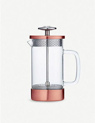 BARISTA & CO: Core three cup borosilicate glass and stainless-steel coffee press 350ml