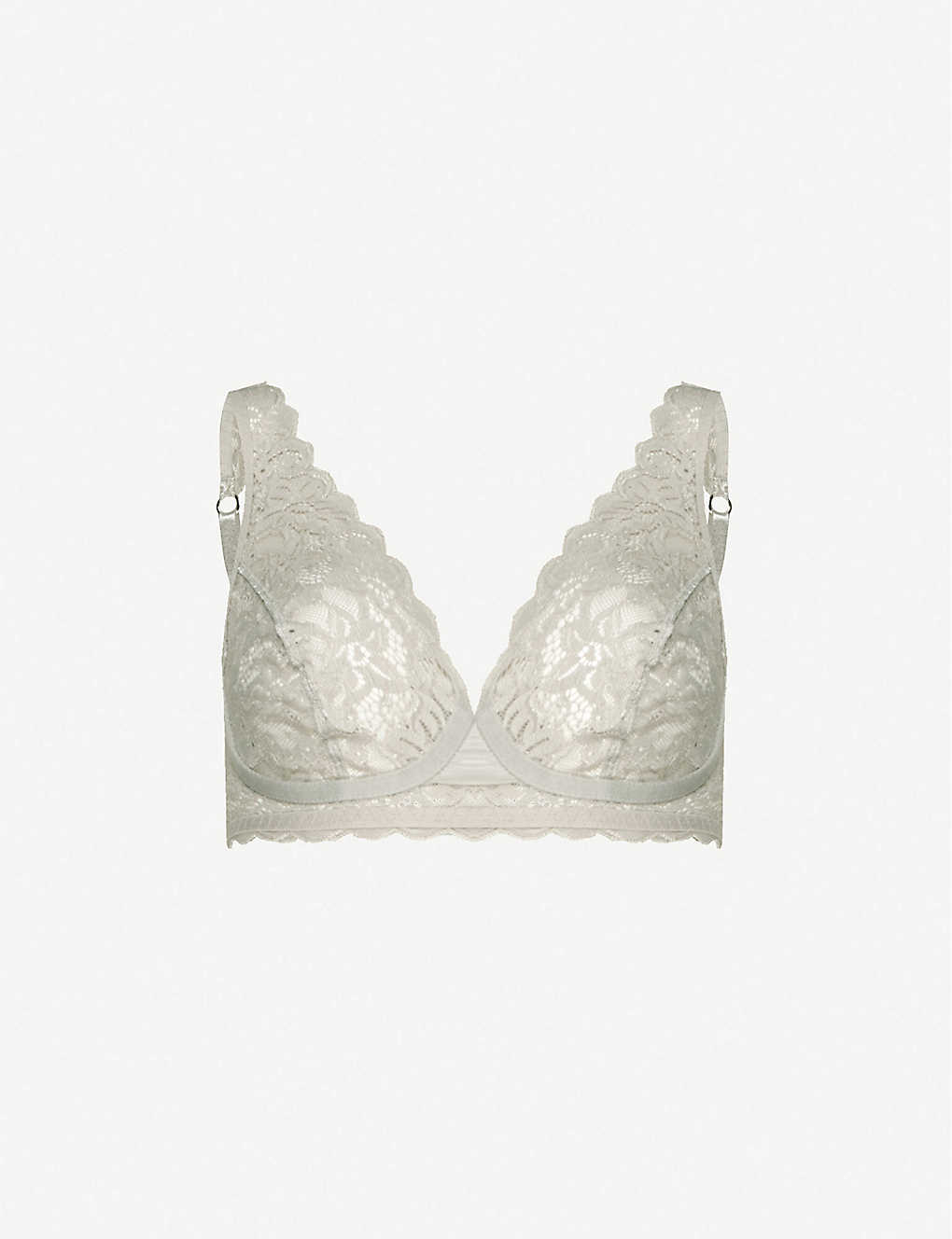 HANRO: Moments soft-cup stretch-lace bra