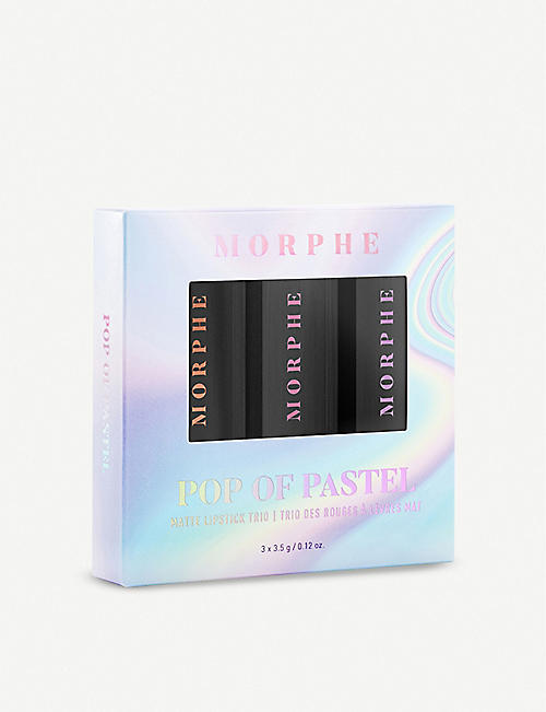 MORPHE Pop of Pastel Matte Lipstick Trio 3 x 3.5ml