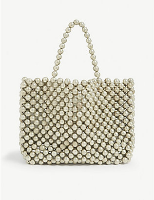 LES COYOTES DE PARIS: Kids beaded handbag