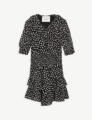 LES COYOTES DE PARIS: Louna leopard print dress 8-18 years