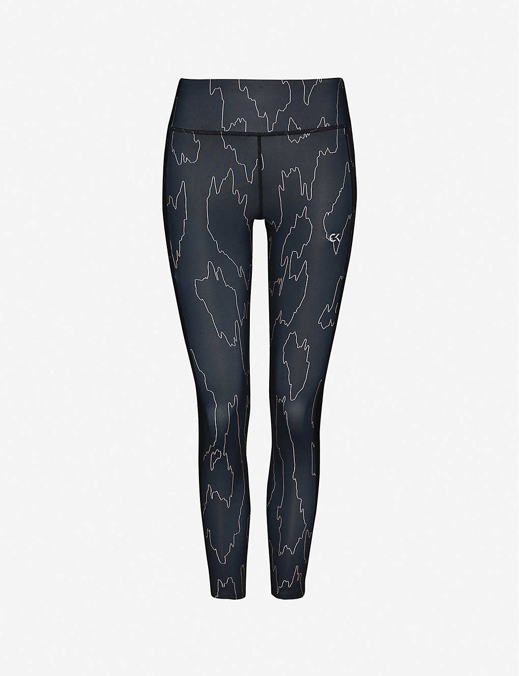 CALVIN KLEIN: Performance Cool high-rise stretch-jersey leggings