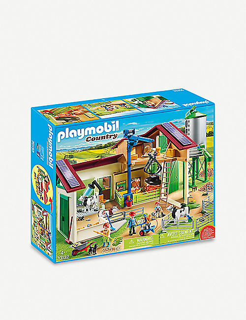 PLAYMOBIL: Country 70132 farm with animals playset