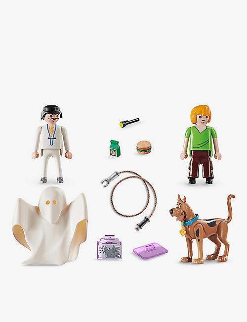 PLAYMOBIL: Scooby Doo, Shaggy and Ghost playset