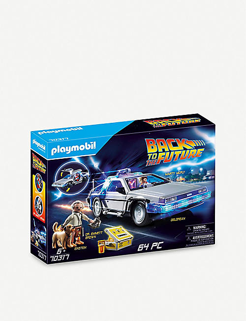 PLAYMOBIL: Back to the Future DeLorean playset