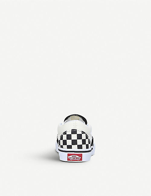 VANS Slip-on canvas trainers 1-4 years