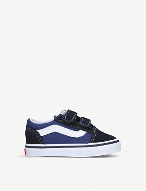 VANS Old Skool suede and canvas trainers 1-4 years