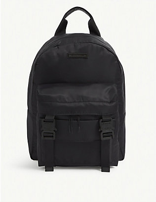 1017 ALYX 9SM: Double front pocket backpack
