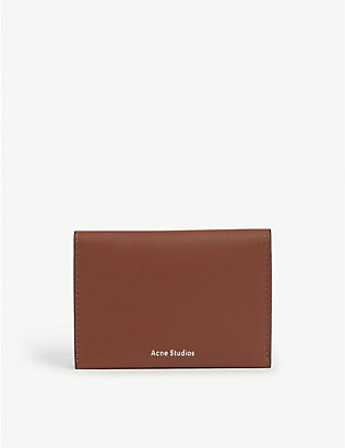 ACNE STUDIOS: Fold card holder