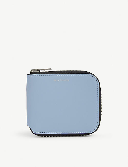 ACNE STUDIOS Kei small leather zip wallet