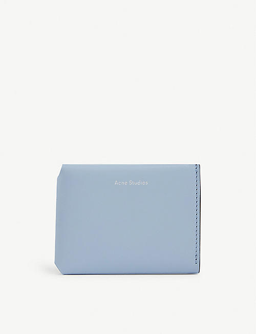 ACNE STUDIOS Leather fold wallet