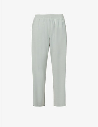 EBERJEY: Blair relaxed-fit cotton-blend pyjama bottoms