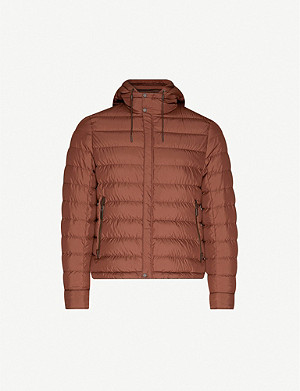 ERMENEGILDO ZEGNA Quilted shell-down jacket