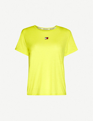 TOMMY SPORT Performance round-neck jersey T-shirt