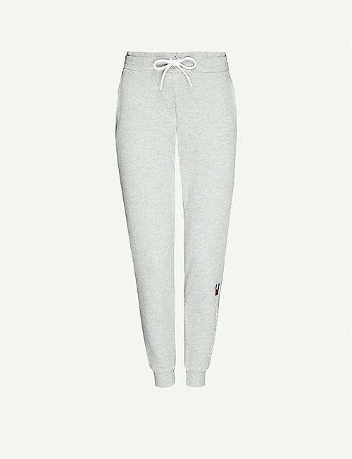 TOMMY SPORT: Tapered relaxed-fit cotton-blend jersey jogging bottoms