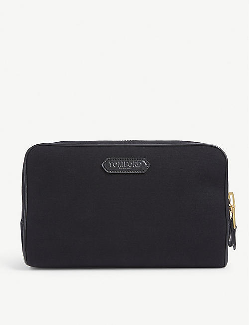 TOM FORD: Canvas wash bag
